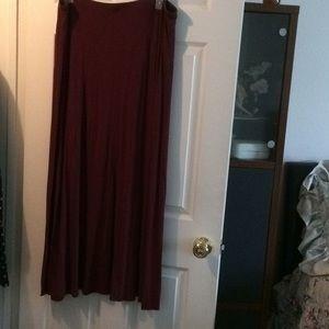 Maxi skirt XL